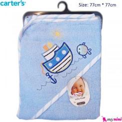حوله کلاه دار نوزاد و کودک کشتی کارترز Carter's Towel