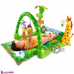 تشک بازی موزیکال 3 حالته زرافه Baby Gift Play Gym