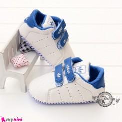 کفش اسپُرت نوزاد و کودک آدیداس آبی و سفید Baby footwear