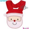 پیشبند کارترز عروسکی بابا نوئل Carter's baby animal bibs