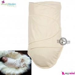 قنداق پنبه ای نوزاد میراکل کِرِمی Miracle Blanket