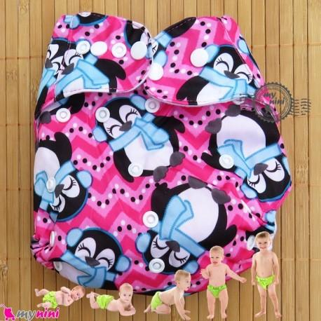 شورت آموزشی 3 لایه فشِن بی بی پنگوئن Fashion baby reusable diaper