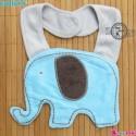 پیشبند کارترز عروسکی آبی فیل Carter's baby animal bibs