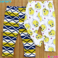 شلوار کارترز پنبه ای 2 عددی Carter's baby pants