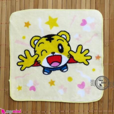 حوله دست نوزاد و کودک لیمویی ببر Baby washcloths