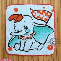 حوله دست نوزاد و کودک آبی فیل Baby washcloths