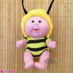 عروسک بامزه موزیکال و چراغدار زنبور Baby cute doll