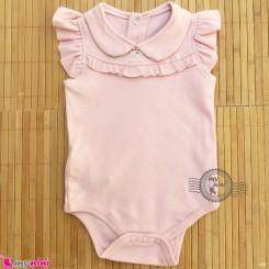 لباس زیردکمه دار پنبه ای مارک بِیبی کالِکشن urb baby collection bodysuits