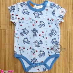 آستین کوتاه زیردکمه دار پنبه ای مارک پامپکین پَچ pumpkin patch baby bodysuits