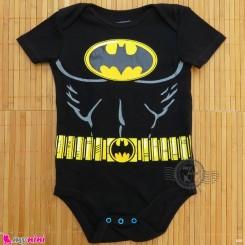 آستین کوتاه زیردکمه دار پنبه ای مارک جاستیس لیگ 12 تا 18 ماه baby bodysuits