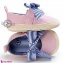 کفش نوزاد و کودک دخترانه پاپیون رنگ صورتی Baby girl footwear