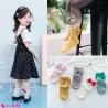 جوراب نخی دخترانه پرنسس 2 تا 4 سال princess style socks