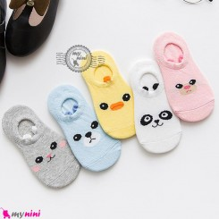 جوراب مچی حیوانات بامزه بدو تولد تا یکسال baby cute socks