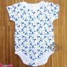 آستین کوتاه زیردکمه دار پنبه ای مارک بِیبی 6 تا 9 ماه baby bodysuits