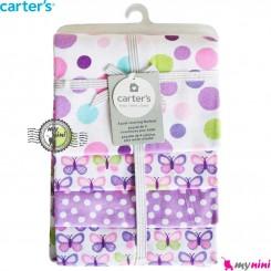 خشک کن کارترز پروانه Carters newborn blanket