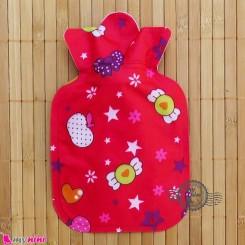 کیسه آبگرم و آبسرد نوزاد و کودک قرمز قلب و ستاره Hot and cold Water Bottle