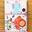 نی نی نامه خاطرات نوزاد و کودک دختر پرنده و فیل Notes to baby