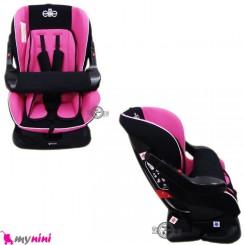 صندلی ماشین 0 تا 6 سال کودک سرخابی مشکی الیت Elite Car Seat