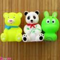 اسباب بازی حمام نوزاد و کودک 3 عددی حیوانات baby bath toys