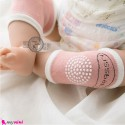 زانوبند نوزاد و کودک استُپ دار صورتی Baby Knee Supporter