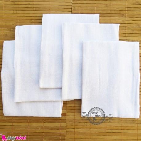 کهنه پنبه ای 5 عددی نوزاد و کودک baby cotton textile