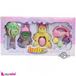جغجغه جعبه ای بزرگ 4 عددی نوزاد و کودک Baby Rattle