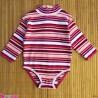 بلوز آستین بلند زیردکمه دار پنبه ای بچگانه 6 ماه kids long sleeve bodysuits