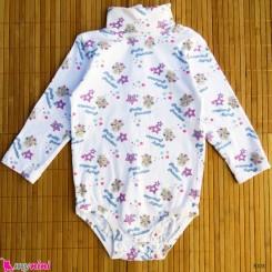 لباس زیردکمه دار پنبه ای کودکان Kids long sleeve bodysuits