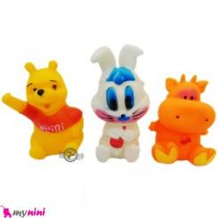 پوپت سوتی وان 3 عددی نوزاد پُو  Whistle Rattle Pooh