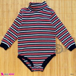بلوز آستین بلند زیردکمه دار پنبه ای بچگانه 24 ماه Kids long sleeve bodysuits