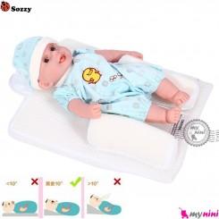 تشک غلت گیردار آنتی رفلکس نوزاد و کودک مارک سوزی Sozzy ultimate vent sleep system