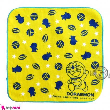 حوله دست و صورت نوزاد و کودک زرد گربه Baby washcloths