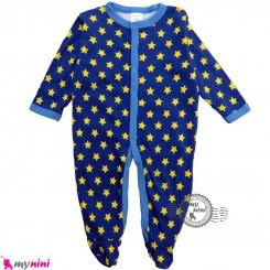 سرهمی کارترز پنبه ای نوزاد و کودک ستاره 3 ماه Carter's baby bodysuit