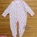 سرهمی کارترز پنبه ای نوزاد و کودک صورتی فیل 3 ماه Carter's baby bodysuit