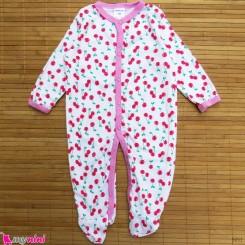 سرهمی کارترز پنبه ای نوزاد و کودک آلبالو 3 ماه Carter's baby bodysuit