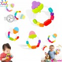 دندانگیر جغجغه ای نوزاد و کودک 2 کاره مارک هویلی تویز Huile Toys toddling teethers 6 colors