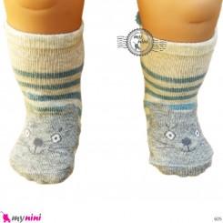 جوراب عروسکی پنبه ای مارک چیچی اند کُوکُو chichi & coco baby cute socks