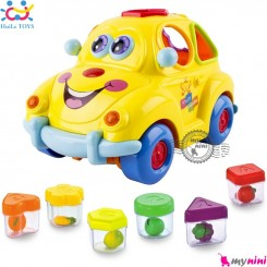 ماشین آموزشی لِگو موزیکال مارک هویلی تویز Huile toys intelligent fruit car