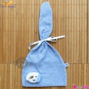 کلاه نوزاد و کودک مارک مینی داملا ترکیه آبی mini damla Baby warm hat