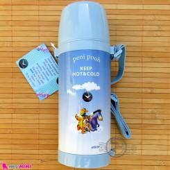 فلاسک شیشه ای سرد و گرم کارتونی مارک آکیلیس آبی روشن Ackiliss hot and cold vacuum jug