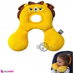 بالش فرم دهنده سر نوزاد و کودک و غلت گیر چند کاره شیر Baby travel pillow خرید سیسمونی و لوازم کودک