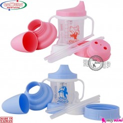 لیوان نوزاد و کودک 4 کاره کمرا تایوان Camera baby bottle 4 in 1 feeding set خرید اینترنتی سیسمونی