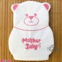 لیف نوزاد و کودک عروسکی خرس رنگ صورتی Baby Hand Bath Shower Wash Mitt سیسمونی نوزاد و لوازم کودک