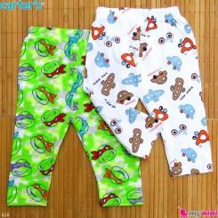 شلوار بچه گانه پنبه ای 2 عددی مارک کارترز Carter's baby pants