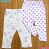 شلوار بچه گانه پنبه ای 2 عددی مارک کارترز 0 تا 3 ماه Carter's baby pants