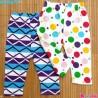 شلوار بچه گانه پنبه ای 2 عددی مارک کارترز 3 تا 6 ماه Carter's baby pants