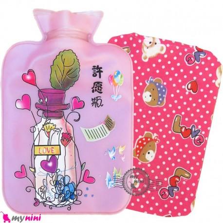 کیسه آبگرم و آبسرد کاوردار نوزاد و کودک یاسی لاو Hot and cold Water Bottle