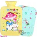 کیسه آبگرم و آبسرد کاوردار نوزاد و کودک زرد موش و خرگوش Hot and cold Water Bottle