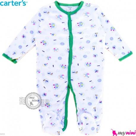 سرهمی نوزاد و کودک پنبه ای مارک کارترز 12 ماه طرح اسباب بازی Carter's baby bodysuit