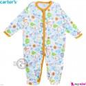 سرهمی نوزاد و کودک پنبه ای مارک کارترز 12 ماه طرح جنگل Carter's baby bodysuit